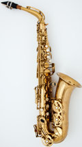 Musical Instruments:Horns & Wind Instruments, Late 1960's Buffet Super Dynaction Brass Alto Saxophone, #15270....