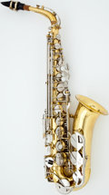 Musical Instruments:Horns & Wind Instruments, Conn 22M Brass Alto Saxophone, #784400....
