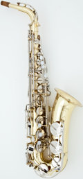 Musical Instruments:Horns & Wind Instruments, Yamaha YAS-23 Brass Alto Saxophone, #112369 A....