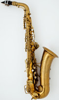 Musical Instruments:Horns & Wind Instruments, Conn Naked Lady Brass Alto Saxophone, #300359....