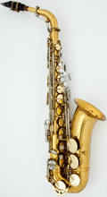 Musical Instruments:Horns & Wind Instruments, King Super 20 Brass Alto Saxophone, #502433....