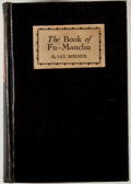 Books:First Editions, Sax Rohmer. The Book of Fu-Manchu. New York: Robert M.McBride, 1929. First edition. Octavo. Publisher's binding wit...