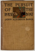 Books:First Editions, John Kendrick Bangs. The Pursuit of the House-Boat. NewYork: Harper & Brothers, 1897. First edition. Twelvemo. ...