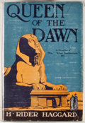 Books:First Editions, H. Rider Haggard. Queen of the Dawn. Garden City: Doubleday,Page, 1925. First edition. Octavo. Publisher's bind...
