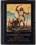 Books:Children's Books, Frank E. Schoonover [illustrator]. Kirk Munroe. The FlamingoFeather. New York: Harper & Brothers, [1915]. First...