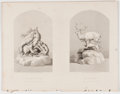 Antiques:Folk Art, Lot of 15 Steel Engravings Depicting Sculpture Displayed at theGreat Exhibition of 1851....