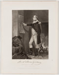 Antiques:Posters & Prints, Lot of 9 National Gallery Portraits of Eminent Americans....