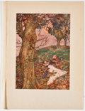 Antiques:Posters & Prints, Lot of 13 W. Heath Robinson Illustrations From Bill the Minder....