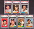 Baseball Cards:Sets, 1961 Topps Low and Middle Series Near Run (#1-523)....