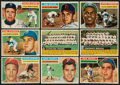 Baseball Cards:Lots, 1956 Topps Baseball White Backs Collection (60 Different)....