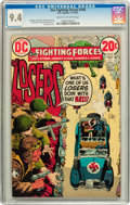Bronze Age (1970-1979):War, Our Fighting Forces #140 (DC, 1972) CGC NM 9.4 Cream to off-white pages....