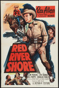 "Movie Posters:Western, Red River Shore (Republic, 1953). One Sheet (27"" X 41""). Western.. ..."