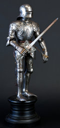 Militaria:Armor, Fine Miniature Suit of Armor in the German Gothic Style....