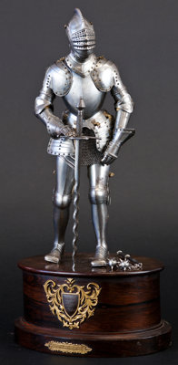 Fine Miniature Suit of Armor in the 16th Century German Style by Edward Granger, Paris