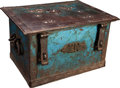 Western Expansion:Goldrush, Unique and Historic 19th-Century California Strong Box....