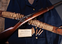 Rare U.S. Department of Indian Affairs Winchester-Hotchkiss Second Model Saddle Ring Bolt Action Carbine