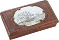 Military & Patriotic:Civil War, Rare and Historic Commemorative Souvenir Box from The Naval Battle of Mobile Bay....