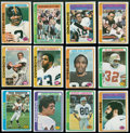 Football Cards:Sets, 1978 Topps Football Complete Set (528). ...