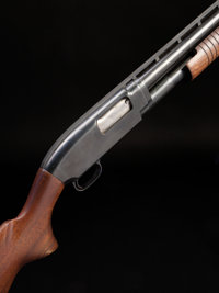 *12 Gauge Winchester Model 12 Slide Action Shotgun with a Ventilated Rib