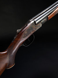 *20 gauge L.C. Smith Field Grade Double Barrel Shotgun