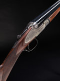 Shotgun:Double Barrel, **28 Gauge V. Bernadelli 4E Sideplate Ejector Double Barrel Shotgun....