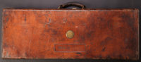 Purdey Leather Two Shotgun Trunk Case
