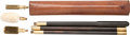 Arms Accessories, British Sectional Shotgun Cleaning Rod Kit in Leather Case....