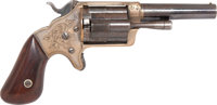 """Scarce Boxed Patent Slocum """"Side-Loading"""" Pocket Revolver by Brooklyn Arms Co"""