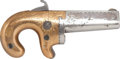 Handguns:Derringer, Palm, Moore's Patent Firearms Co. No. 1 Derringer c. 1860-65....