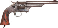Scarce Blued Merwin & Hulbert First Model Single Action Army Revolver