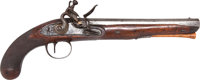 English Flintlock Horse Pistol by Thomas Wheeler