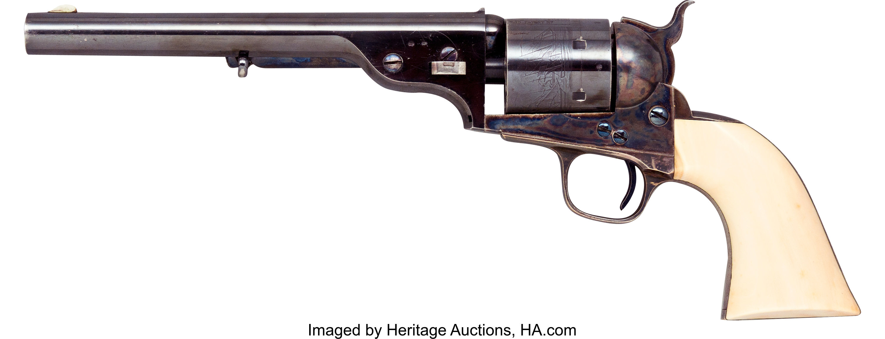 Rare Colt Model 1871 72 Open Top Prototype Single Action Lot 33091 Heritage Auctions
