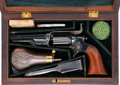 Handguns, Cased Colt 4th Model 1855 Root Percussion Pocket Revolver with Accessories....