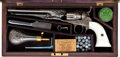 Handguns, Cased Deluxe Factory Engraved Presentation Colt Model 1862 Police Pocket Percussion Revolver....