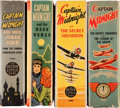 Golden Age (1938-1955):Miscellaneous, Big Little Book Captain Midnight Group (Whitman, 1941-46) Condition: Average VF.... (Total: 4 Items)