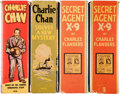 Golden Age (1938-1955):Miscellaneous, Big Little Book Secret Agent X-9/Charlie Chan Group (Whitman, 1936-40) Average Condition: VF.... (Total: 4 Items)