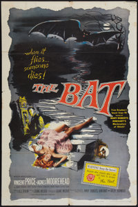 "The Bat (Allied Artists, 1959). One Sheet (27"" X 41""). Horror"