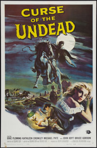 "Curse of the Undead (Universal International, 1959). One Sheet (27"" X 41""). Horror"