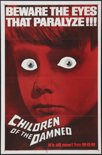 """Children of the Damned (MGM, 1963). One Sheet (27"""" X 41""""). Science Fiction"""