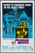 """Movie Posters:Horror, Horror House (American International, 1970). One Sheet (27"""" X 41""""). Horror.. ... (Total: 2 Items)"""