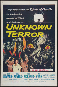 "The Unknown Terror (20th Century Fox, 1957). One Sheet (27"" X 41""). Horror"