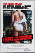 """Movie Posters:Horror, I Spit on Your Grave (Jerry Gross Organization, R-1980). One Sheet (27"""" X 41""""). Horror.. ..."""