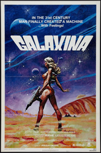 "Galaxina (Crown International, 1980). One Sheet (27"" X 41"") Style A. Comedy"