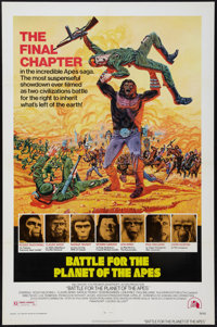 """Battle for the Planet of the Apes (20th Century Fox, 1973). One Sheet (27"""" X 41""""). Science Fiction"""