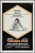 "Movie Posters:Science Fiction, The Andromeda Strain (Universal, 1971). One Sheet (27"" X 41""). Science Fiction.. ..."