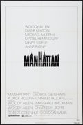 """Movie Posters:Comedy, Manhattan (United Artists, 1979). One Sheet (27"""" X 41"""") Style A. Comedy.. ..."""