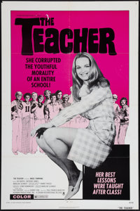 "The Teacher & Other Lot (Crown International, 1974). One Sheets (2) (27"" X 41"") and Lobby Cards (11) (11&q..."