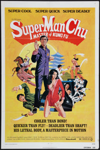"Super Man Chu: Master of Kung Fu & Others Lot (Capital Film Co., 1973). One Sheets (3) (27"" X 41""). Action..."