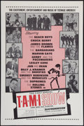 "Movie Posters:Rock and Roll, The T.A.M.I. Show (American International, 1964). One Sheet (27"" X 41""). Rock and Roll.. ..."