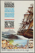 "Movie Posters:Adventure, Mutiny on the Bounty (MGM, 1962). One Sheet (27"" X 41"") Style B.Adventure.. ..."
